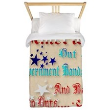 GREETING CARDS Restore America Twin Duvet