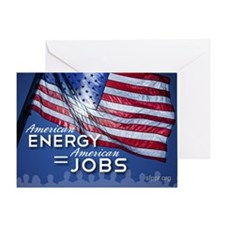 SF_AEnergyJobs_YardSignT_21x14_05231 Greeting Card