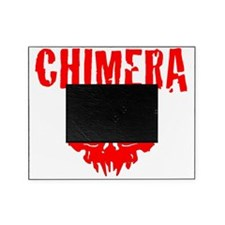 CHIMERA SKULL RED Picture Frame