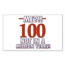 100 years already??!! Decal