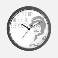 round up the usual suspects Wall Clock