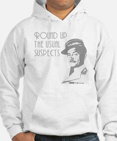 round up the usual suspects Hoodie
