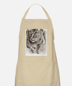Cat Drawing Apron