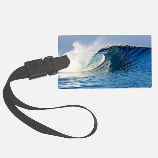 Fijian Wave Luggage Tag