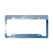Fijian Wave License Plate Holder
