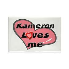 kameron loves me Rectangle Magnet
