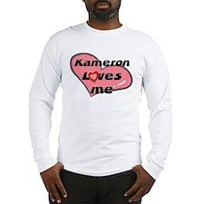 kameron loves me Long Sleeve T-Shirt