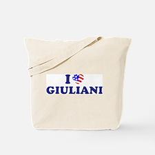 I Heart / Love Giuliani Tote Bag