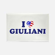 I Heart / Love Giuliani Rectangle Magnet