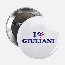 I Heart / Love Giuliani Button