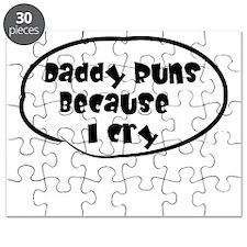Daddy Runs White Puzzle