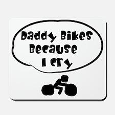 Daddy Bikes Mousepad