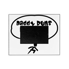 Daddy Runs Picture Frame