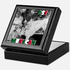 Bad Ass Mexican Keepsake Box