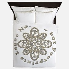 Leave Nothing Boot Stone Queen Duvet