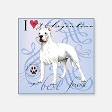 "dogo-tile Square Sticker 3"" x 3"""
