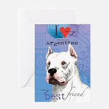 dogo-key1 Greeting Card