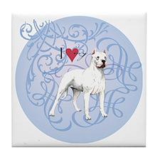 dogo-charm2 Tile Coaster