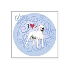 "dogo-charm2 Square Sticker 3"" x 3"""