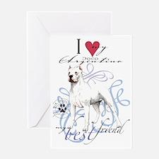 dogo-key2 Greeting Card