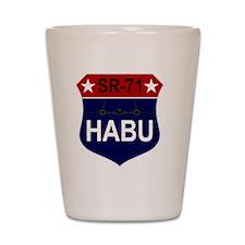 SR-71 - HABU Shot Glass