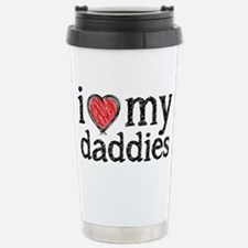 love my daddies Travel Mug