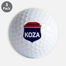 SR-71 - 100 Missions -KOZA Golf Ball