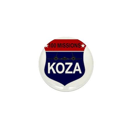 SR-71 - 100 Missions -KOZA Mini Button