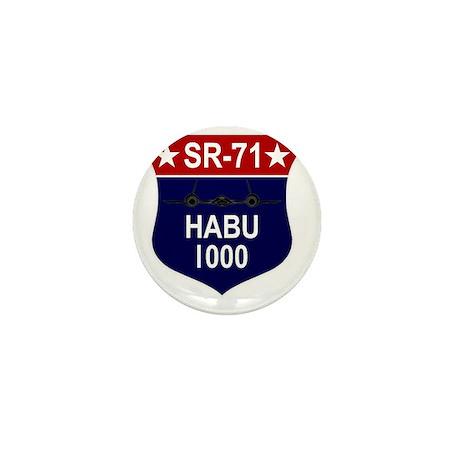 SR-71 1000 Hours Mini Button