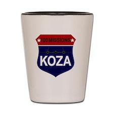 SR-71 - 100 Missions - KOZA Shot Glass