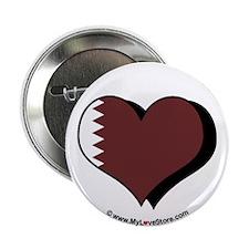"""I Love Qatar 2.25"""" Button (100 pack)"""