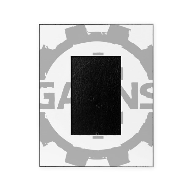GAIINS Cog Logo Grey Picture Frame by ADMIN_CP66383652