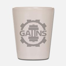 GAIINS Cog Logo Grey Shot Glass