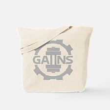 GAIINS Cog Logo Grey Tote Bag