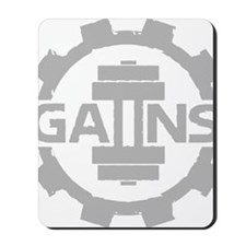 GAIINS Cog Logo Grey Mousepad