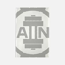 GAIINS Cog Logo Grey Rectangle Magnet