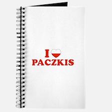 I Heart / Love Paczkis Journal