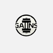 GAIINS Cog Logo Black Mini Button
