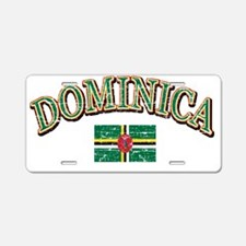 dominica Aluminum License Plate
