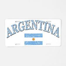 argentina Aluminum License Plate