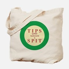Button-Large Tote Bag