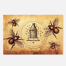 Vintage Bees Postcards (Package of 8)