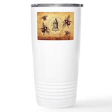 Vintage Bees Travel Coffee Mug