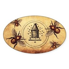 Vintage Bees Decal