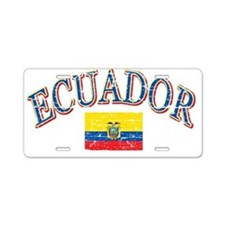 Ecuadorian designs Aluminum License Plate