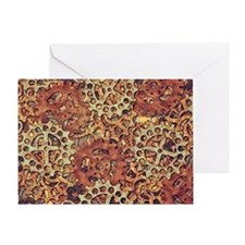 Rusty Gears Greeting Card