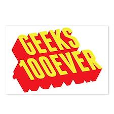 Geeks 100ever Postcards (Package of 8)