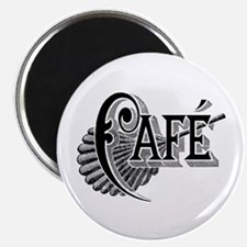 "Cafe 2.25"" Magnet (10 pack)"