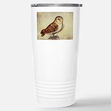 Vintage Barn Owl Travel Mug