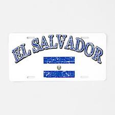 el savaldor Aluminum License Plate